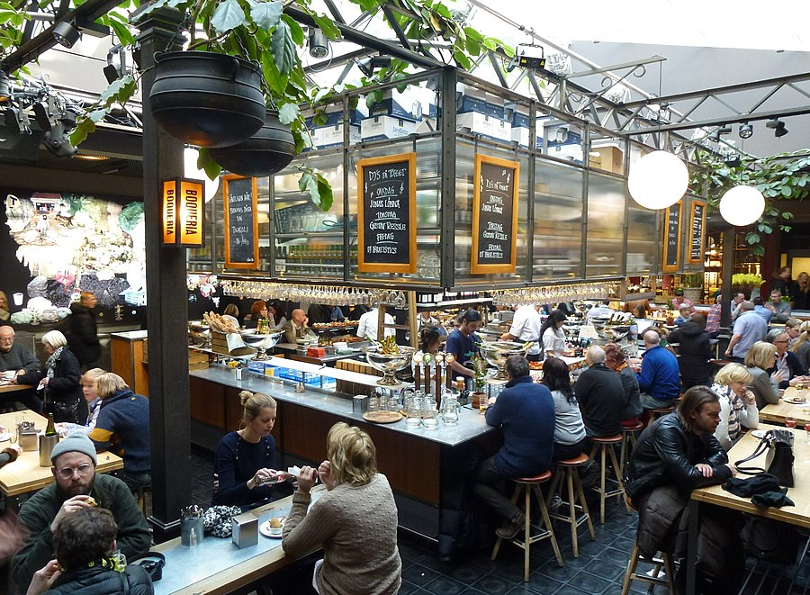 Pick up bars stockholm